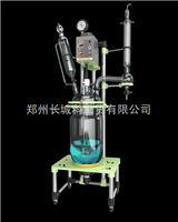 GR-10双层玻璃反应釜 高硼硅