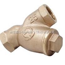青銅Y型過濾器,日本閥天青銅過濾器,深圳蒸汽過濾器